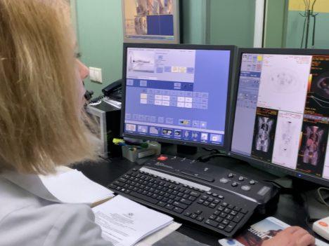 Галий ПЕТ-скенер изследване технически